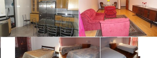 Fully equipped Kitchen and spacious Sitting Room - 3 Bedrooms: Free Mobile WiFi Router to Use in City - Coimbra - rentals