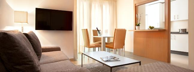 Livingroom at Fajardo6 - Fajardo6 - serviced apartment in Málaga center - Malaga - rentals