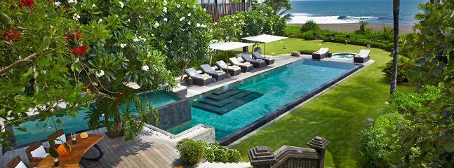 Ambra, 5 Bedroom Luxury Beachfront Villa, Canggu - Image 1 - Canggu - rentals