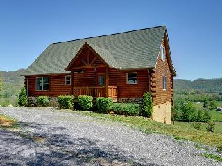 Skiing?3/3 Log Cabin slps 6, easy roads $145 VIEWS - Maggie Valley vacation rentals