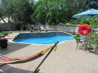 Private Pool, Island Living in San Antonio (Alamo) - Lakehills vacation rentals