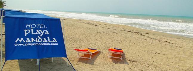 Playa Mandala - Cabaña on the beach! - Palomino - rentals