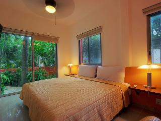 Garden Room. King size bed. Free Wifi.Ideal for 2 people. On downtown. - Quintana Roo vacation rentals
