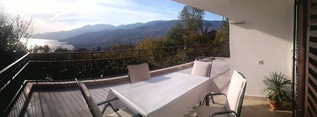 Spacious terrace with beautiful view on Kvarner Bay - Comfortable and sunny apartment near Opatija - Kastav - rentals