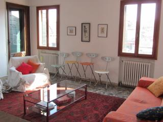 Cozy, bright Venetian penthouse with 2 Terraces - Venice vacation rentals