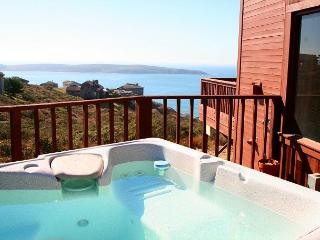 """Beach Nest"" Hot Tub,Endless Ocean Views,WiFi! Gas/log fireplace 3 for 2! - Dillon Beach vacation rentals"