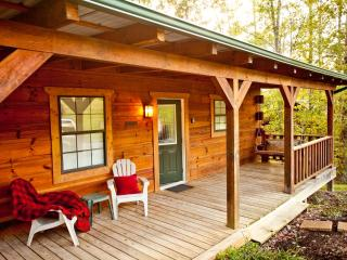 "Tellico Cabins "" Cowboy""  Log Cabin with Hot Tub - Tellico Plains vacation rentals"