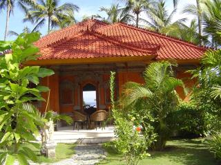 Bali - Luxurious see fronted villa with laguna shaped private pool - Java vacation rentals