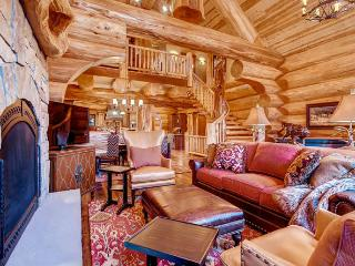 Moose Ridge Cabin - amazing log cabin on 5 acres - Breckenridge vacation rentals