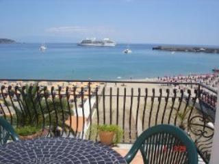 """ORAMA"" FROM ""appartamenti-naxos.  it ""  NICE APARTMENT WITH TERRACE FRONT SEA - Giardini Naxos vacation rentals"