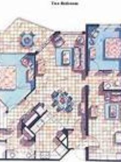 Floor Plan - Vacation Village at Bonaventure, Fort Lauderdale, - Weston - rentals