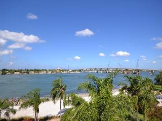 Isla Del Sol - Bahia Vista 13-556 Top floor, corner condo with wide Bay view! - Tierra Verde vacation rentals