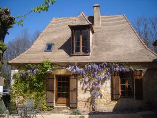 Les Petite Bressettes Stone built gite sleeps up to 9 -Heated Chlorine Free Pool - Le Bugue vacation rentals