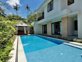 Beautiful pool with a cocktail ledge! - BEACHFRONT KEJORA VILLA 18 | 4 BR FAMILY VILLA | S - Sanur - rentals