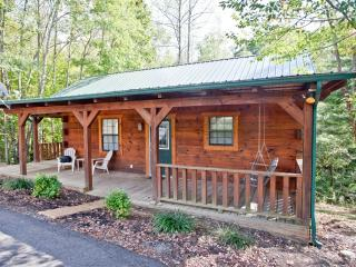 "Tellico Cabins ""Bear"" Log Cabin With Hot Tub - Tellico Plains vacation rentals"