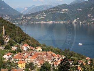 Lake Como beautiful romantic 2-4 p. apt Ca Pina - Perledo vacation rentals