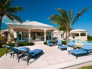SeaBreeze Villa in gated community with salt-water infinity pool overlooking Grace Bay - Grace Bay vacation rentals