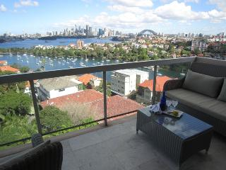 Immerse yourself in the city skyline in this uber comfy sub penthouse apartment - Mosman vacation rentals