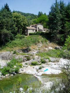 Old Stone Watermill on River w/ Pool - Saint-Jean-du-Gard vacation rentals