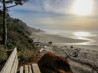 Oceanfront suite w/ gorgeous views of Pacific & easy beach access - dogs ok! - Otter Rock vacation rentals