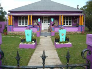 The main house - Purple House B and B and self cater in Smithfield - 4 a Funky, Relaxing stay! - Smithfield - rentals