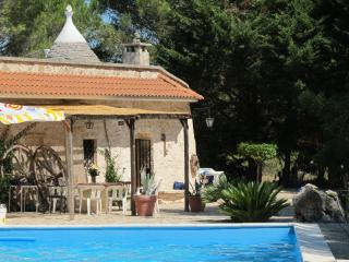 Trullo in Villa Rental: pool and organic garden - Ceglie Messapica vacation rentals