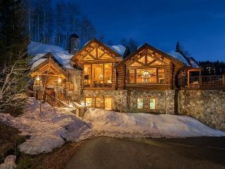 Yellow Brick Mountain Village Luxury Log Vacation Home For 14 Guests - Mountain Village vacation rentals