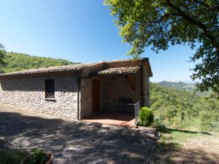 1Br Stone Cottage with romantic view and a pool - Montone vacation rentals