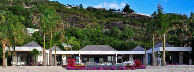 Palm Beach at Lorient, St. Barth - Luxury Villa, Heated Pool, Waterfront - Image 1 - Saint Jean - rentals