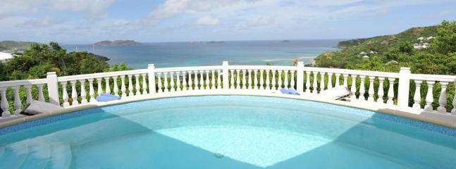 2 Bedroom Villa on the Hillside of Lorient near Petite Saline - Saint Jean vacation rentals