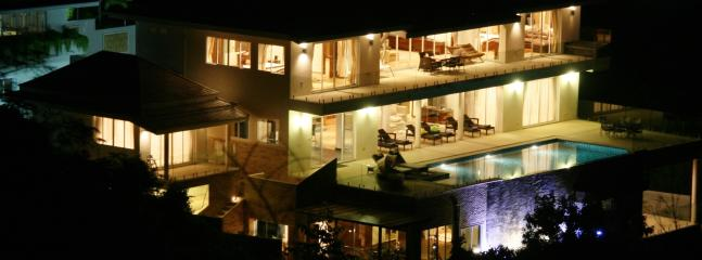 View of the  villa at night. - IslandView Villa - Koh Samui - rentals