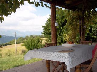 C18 stone farmhouse with panoramic mountain views - Castorano vacation rentals
