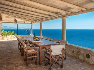 Luxury Villa Deep Blue with private pool and direct access to the sea - Korithion vacation rentals