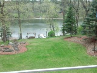 Looking at Lake Shore from Deck - A perfect vacation home just south of Park Rapids - Park Rapids - rentals