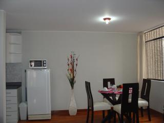 FULLY FURNISHED 1-BEDROOM APARTMENT MIRAFLORES 202 - Peru vacation rentals