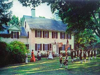 Acclaimed, gracious 1700s Fletcher Tavern B&B - Maynard vacation rentals