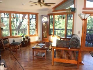 "Solar Powered ""Vista"" private room and bath - Ben Lomond vacation rentals"