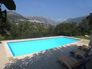 Beautiful family villa with stunning views - Le Bar-sur-Loup vacation rentals