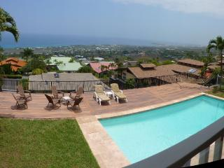 Luxury Home, AwesomeViews, Heated Pool, in town - Kailua-Kona vacation rentals