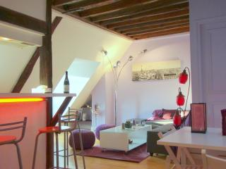Charming Rooftop Apartment in Paris - Paris vacation rentals