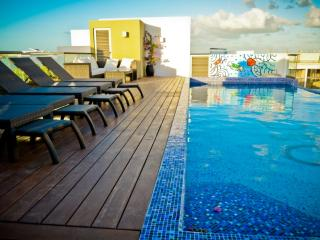 Spacious Flat with Amazing Pool  SO203 - Playa del Carmen vacation rentals