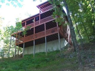 BRAND NEW GAME ROOM in amazing cabin for $125.00 - Ellijay vacation rentals