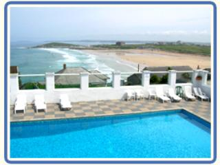 HEATED SWIMMING POOL, OVERLOOKING THE BEACH, STUNNING LOCATION!! - NEWQUAY BEACH HOUSE, FAB SEA VIEWS, BEACH LOCATION - Newquay - rentals
