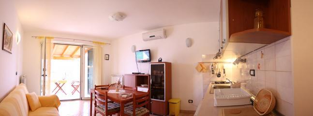 Living room with the terrace - Apartman Kras, Rabac - Labin - rentals