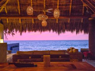 Ocean Front. 56 Ft Infinite Pool.cook. Private Paradise. - Chacala vacation rentals