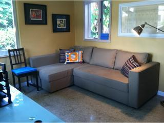 Study/bedroom has queen size pull out - Rio Vista pool home - Fort Lauderdale - rentals