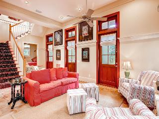 Welcoming home in the heart of Rosemary Beach with peaceful balcony, just a short walk to the beach - Big Thyme Main House - Inlet Beach vacation rentals