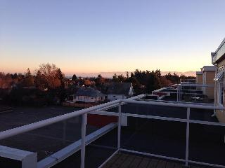 Private Roof Top Patio with Ocean + Mountain Views! - Modern 2 Bedroom Condo with Mountain + Oceanviews - Victoria - rentals