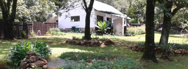 Cottage and Pond - The Herb Cottage, Magoebaskloof, Limpopo Province - Magoebaskloof - rentals