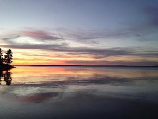 Beautiful Sunset - Superior Beachfront Cottages -Loft - Goulais River - rentals